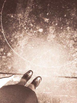 El círculo de tiza y la raya de sal