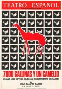 7.000 gallinas y un camello