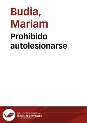Prohibido autolesionarse