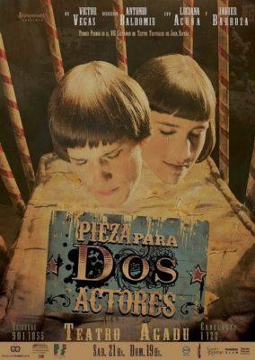 Pieza para dos actores