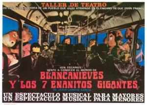 Blancanieves y los 7 enanitos gigantes